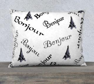 Bonjour Pillow Case Style3 preview