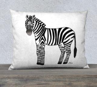 Zebra Pillow preview
