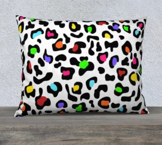 """Lovely Leopard Pillow 26""""x20"""" preview"""