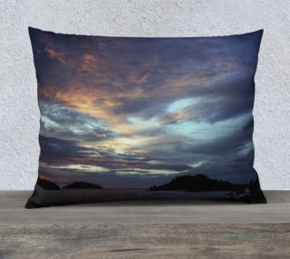 Ocean Sunset Pillow Cover Extra Large preview