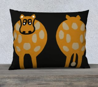 "Silly Cow Pillow Case 26"" x 20"" preview"