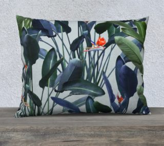 Bird of Paradise Pattern V2 Pillow 26x20 preview