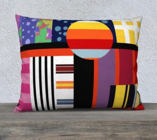 Aperçu de Bright Colorful Pillow case