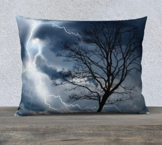 "Electric Conversation - 26""x20"" Pillow Cover preview"