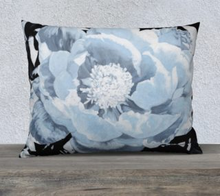 "Peony Pillow Talk V-26""x20"" Pillow Case preview"