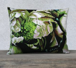 "Peony Ridin' Pillow V-26""x20"" Pillow Case preview"