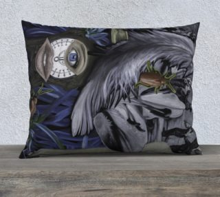"""Feather and a Scale VI-26""""x20"""" Pillow Case preview"""