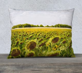 "Field of Dreams V-26""x20 Pillow Case preview"