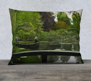 "Monet Pillow Talks V-26""x20"" Pillow Case preview"