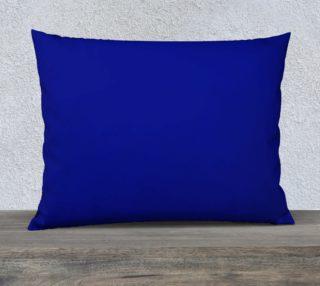 Dark Blue Pillow Case preview