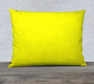 Bright Yellow Pillow Case preview