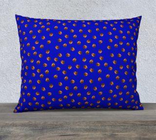 Acorn Pattern-Blue Pillow Case preview