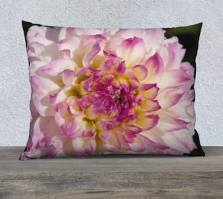 Pink Dahlia Pillow Case preview