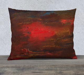Crimson Ocean Pillow Case Style3 preview