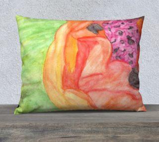 Giant Orange Poppy Pillow Case Style3 preview