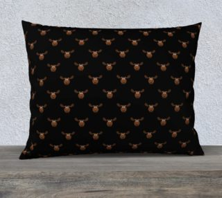 Dark Chocolate Moose Pillow Case preview