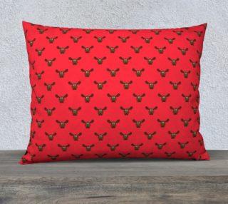 Raspberry Moose Pillow Case preview
