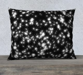Sparkly Stars Pillow Case preview