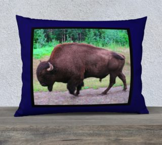 Northern Bison Pillow Case preview