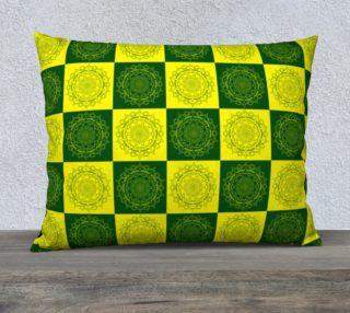 Mandala Square Flower GBPacker Pattern Pillow preview