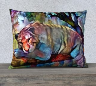 Jungle Tiger Pillow Case preview