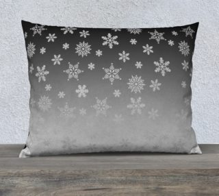 Snow Flurries Pillow Case preview