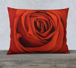 """Seeing Red-26""""x20"""" Pillow Case preview"""