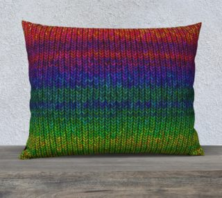 Aperçu de Rainbow Knit Photo