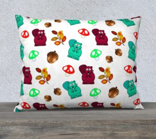 Funny Forest Medley Pillow Case preview