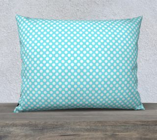 Polka Dots Pattern-Blue Pillow Case preview