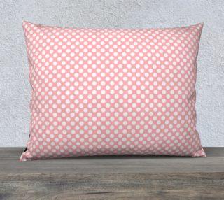 Polka Dots Pattern-Pink Pillow Case preview