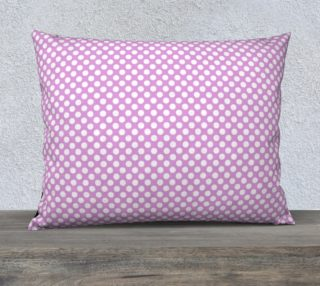 Polka Dots Pattern-Violet Pillow Case preview