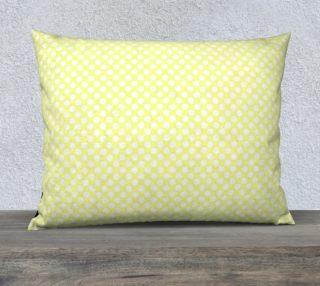 Polka Dots Pattern-Yellow Pillow Case preview