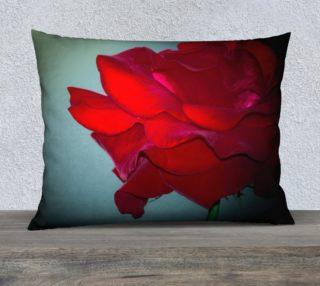 Aperçu de Dark Rose Pillow Case