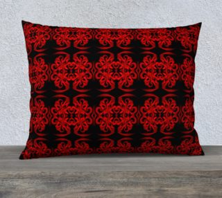 Baroque Red Pillow Case preview