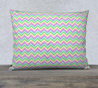 """Pastel Chevron Pattern Pillow Case (26""""x20"""") preview"""