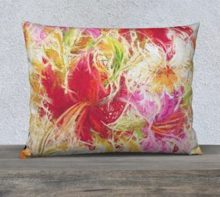 Lilies flowers Pillow preview