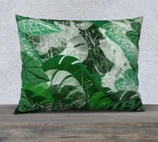 Aperçu de Tropical leaves Pillow Case