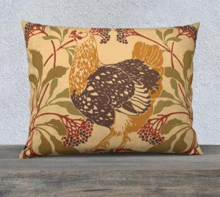 "Aperçu de  Art Nouveau chicken 26"" x 20"" Pillow Case"