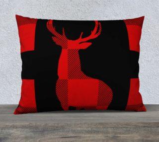 Christmas Lumberjacks Red Deer Silhouette preview