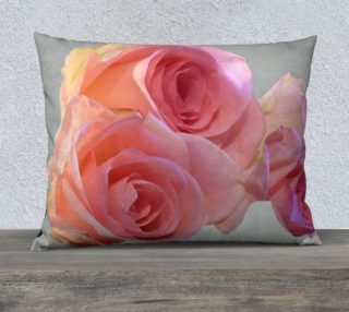 Sweet roses, pillow case. preview