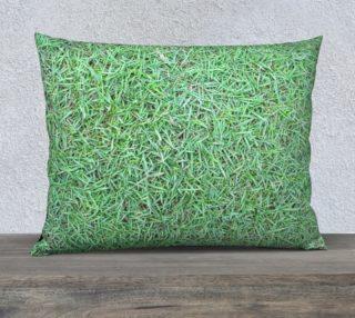 Green Grasses, Pillow Case aperçu