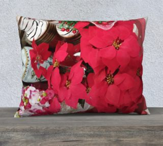 Fuchsia Red Pillow Case preview