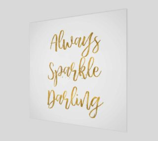 Gold Always Sparkle Darling preview