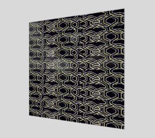Aperçu de 'Enclosure-Black' Wall Art