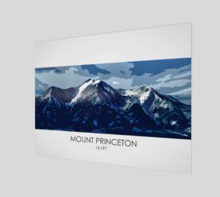 Mt Princeton Art Print preview