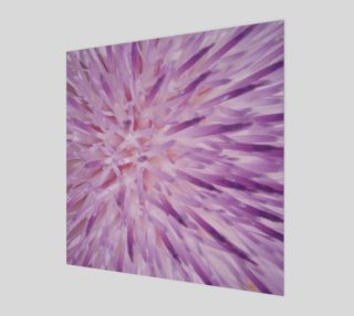 Purple Bud Explosion Wall Art preview