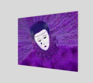 purple festival mask preview