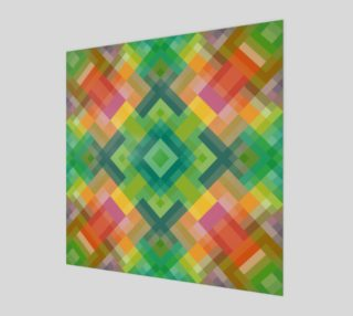 Modern Stylish Squares Triangles Polygon Pattern preview