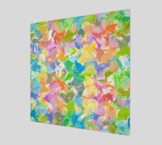 Hip Colorful Vibrant Summer Paint Splatter Pattern preview